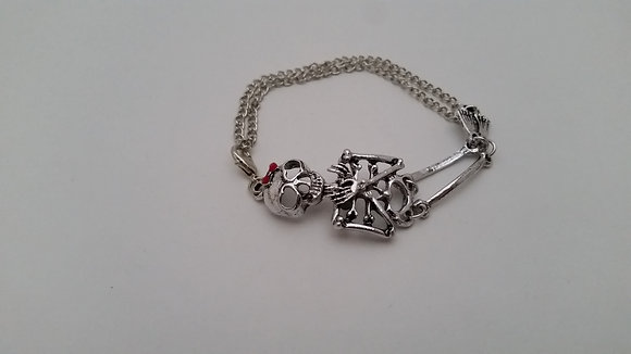 Skeleton Girl Bracelet