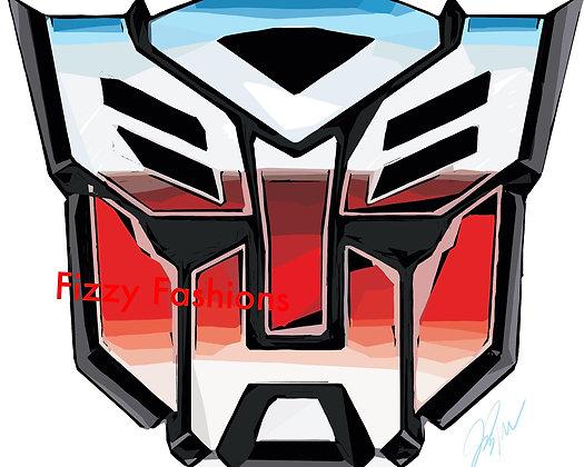 Transformers (Autobot) Art Print