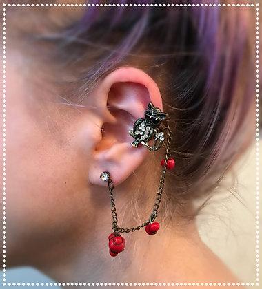 Owl Ear Cuff
