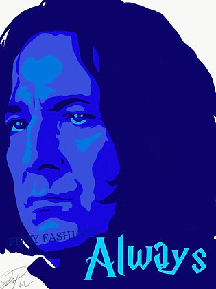 Snape/Always Art Print