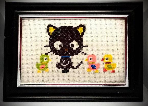 Chococat Cross-Stitch