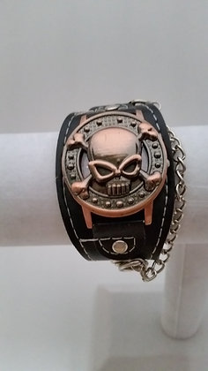Skull and Chain Watch