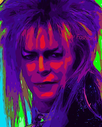 Labyrinth/Bowie Art Print