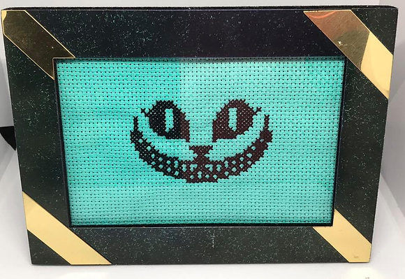 Cheshire Cat Cross-Stitch