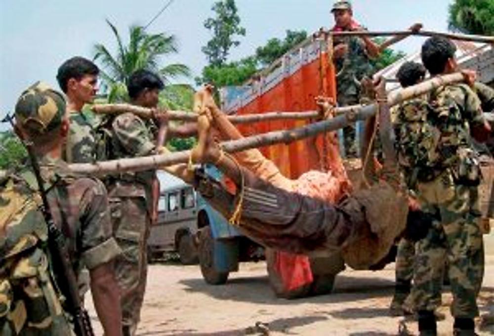 Maoists killed in gun battle