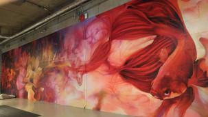 Eggplant Studios Mural
