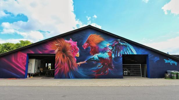 Roskilde Festival mural