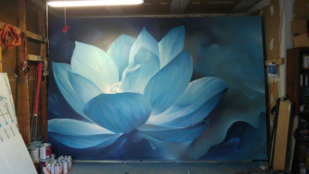 Lotus for yoga studio