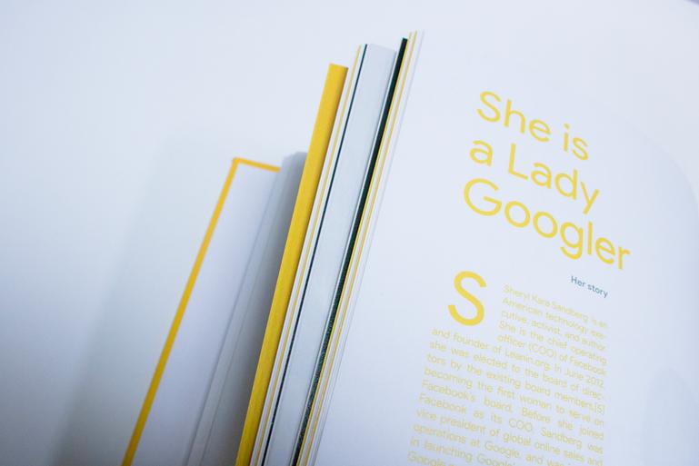 Third book of the four fondamental Google Holybook