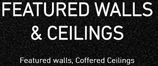 Featured Walls, Ceilings, Coffered Ceili