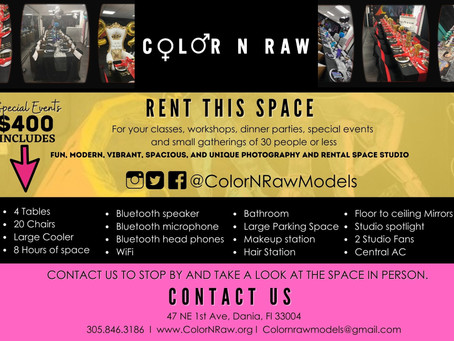 Special Events: Rental Space!