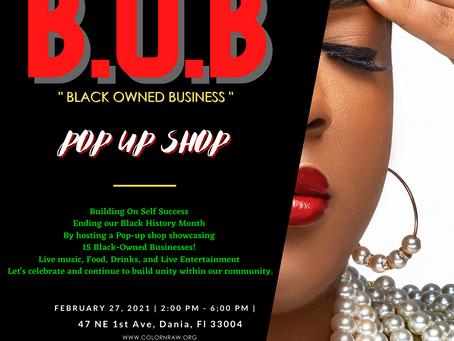 BOB: Pop up shop!