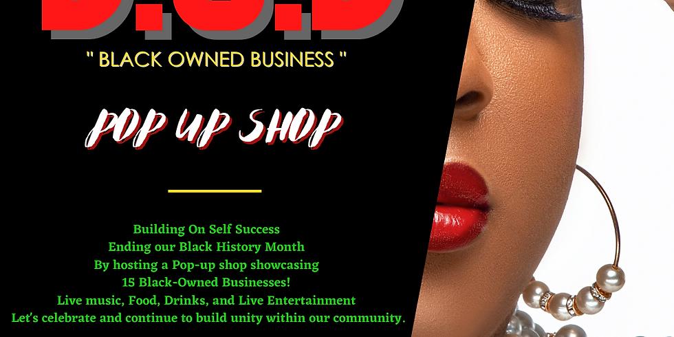 BOB: Black Owned Business - Pop-up shop