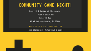 Game Night: Every 3rd Sunday