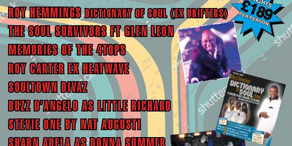 60's & 70's Soul & Motown Weekend 2022
