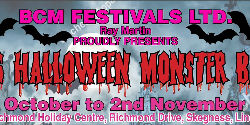 60's Halloween Monster Bash