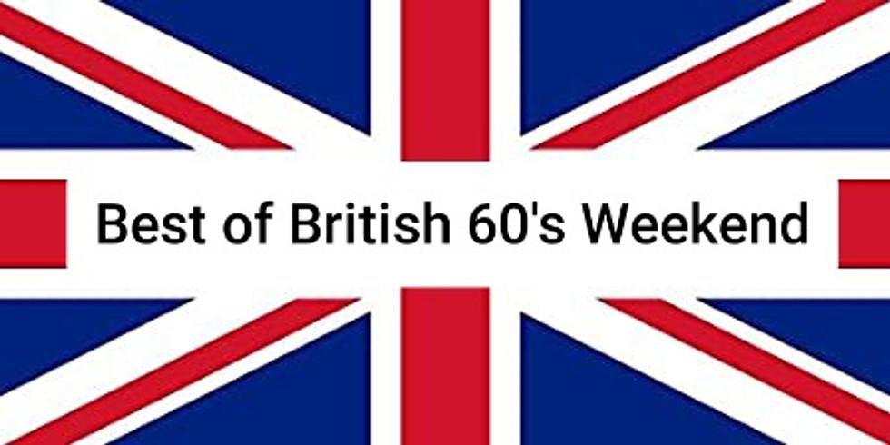 Best of British 60's Weekender