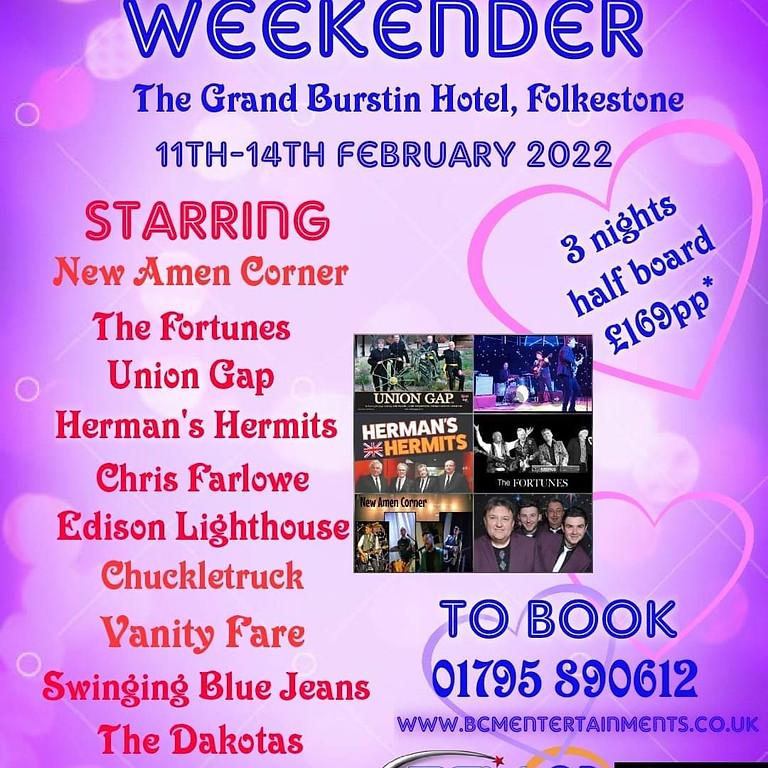 60's Music Valentines Weekender 2022