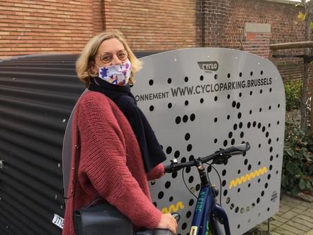 Nieuwe fietbogen, fietsboxen, banken en meer verkeersveiligheid voor Jette