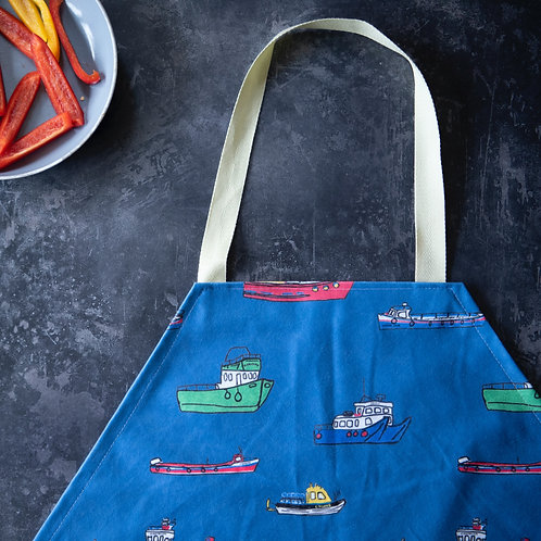 Scilly Boats Apron