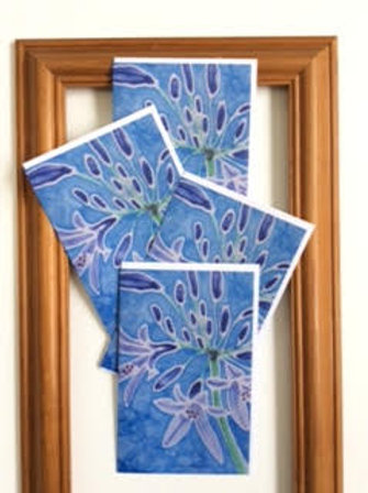 Agapanthus cards