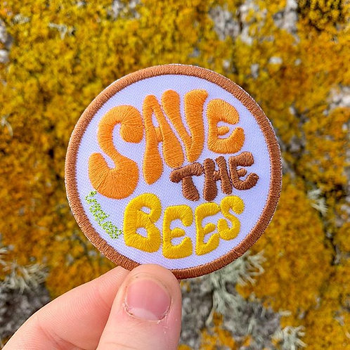 Save the Bees badge