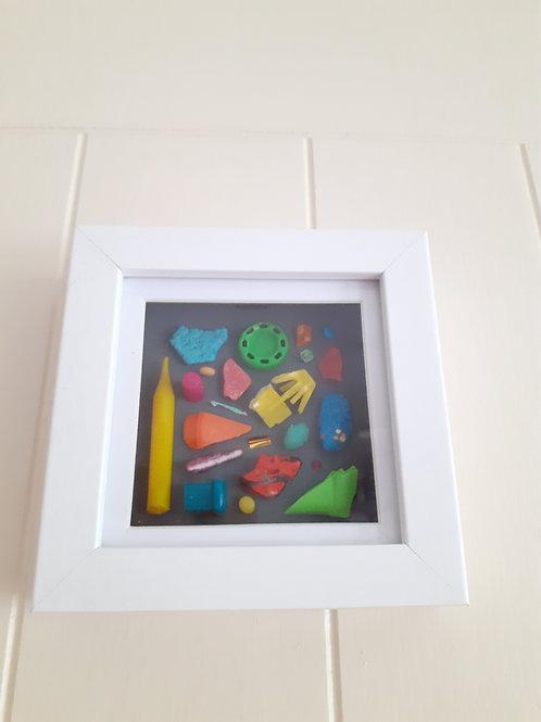 Neon Beachfinds Board  - Original Artwork By Emma Bagnall-Oakeley