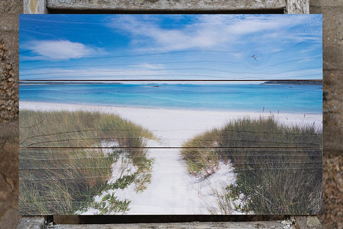 Pentle Bay- Wooden Print