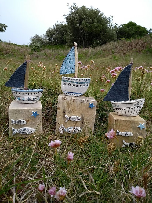 Driftwood Boat - The Potting Shed, Bryher