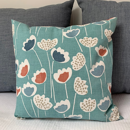 Clara South Pacific Cushion Cover Sewn On Bryher