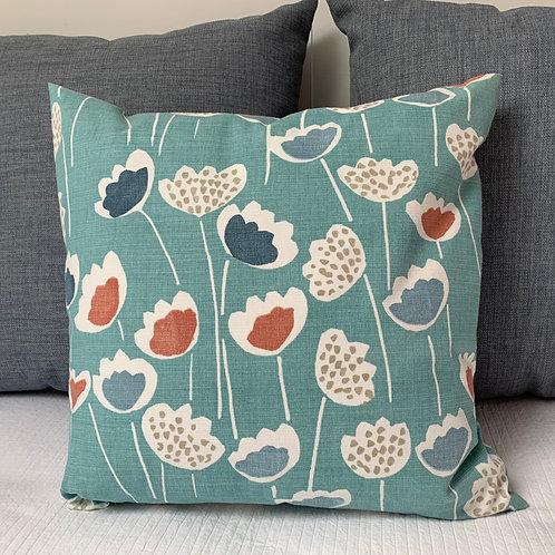 Clara South Pacific Cushion Cover Sewn On Bryher