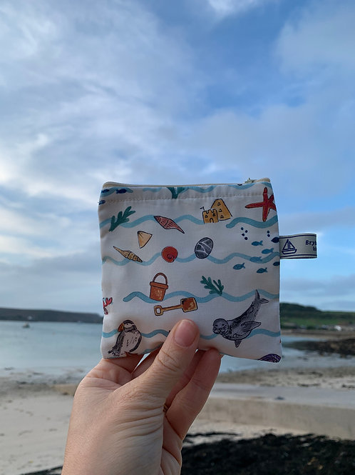 A day on Scilly coin purse