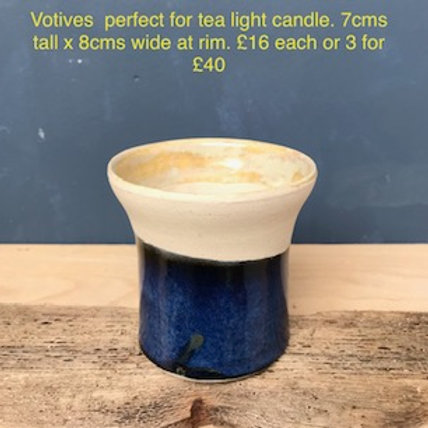 Votives perfect for tea light candles