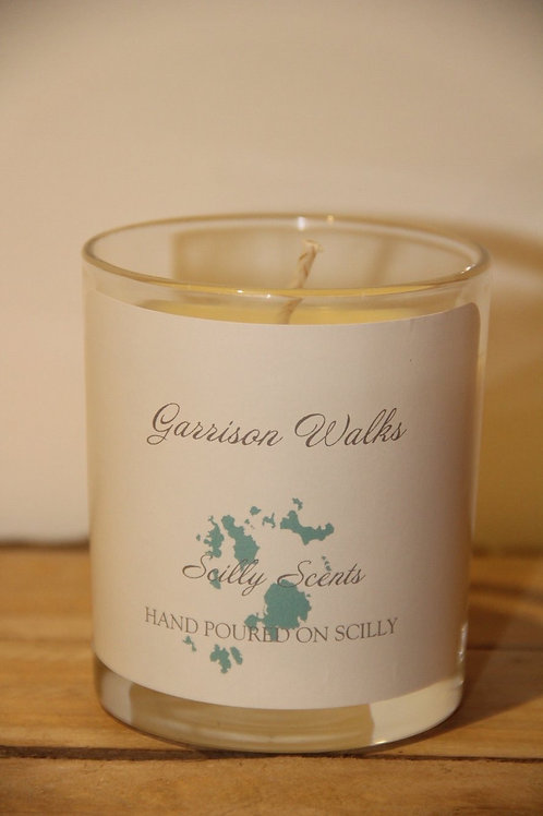 Garrison Walks Scented Candle made on St Marys