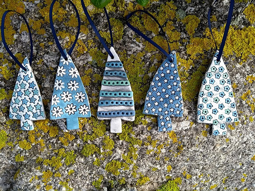 Three Christmas Trees- The Potting Shed, Bryher