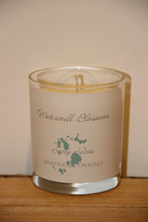 Watermill Blossom Scented Candle made on St Marys