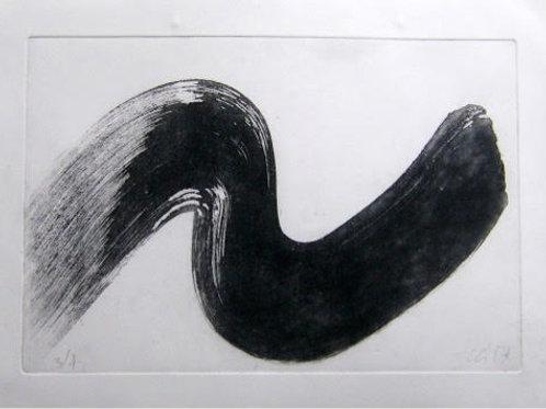 Black Wave 2 - Original Artwork By Chris Garratt
