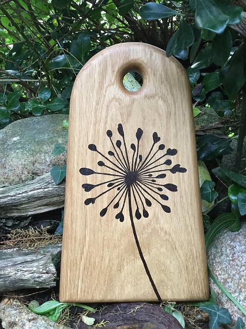Agapanthus Oak Board.