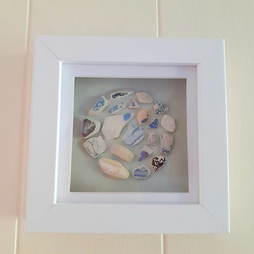 Seapottery Circle  - Original Artwork By Emma Bagnall-Oakeley