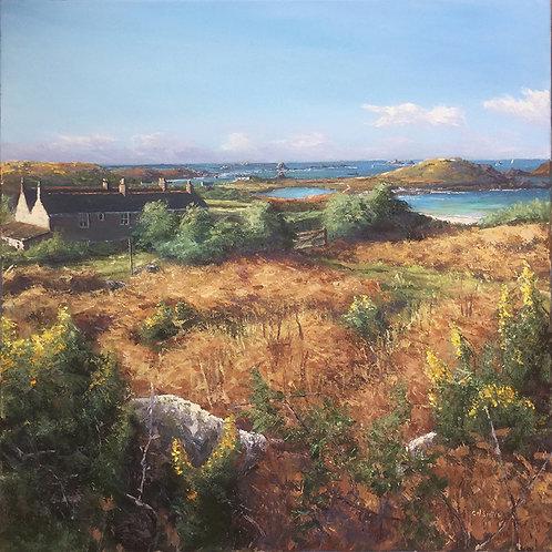 Watch Hill, Bryher Original Artwork By Chris Smith