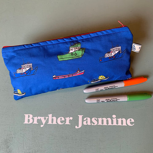 Scilly Boats pencil case