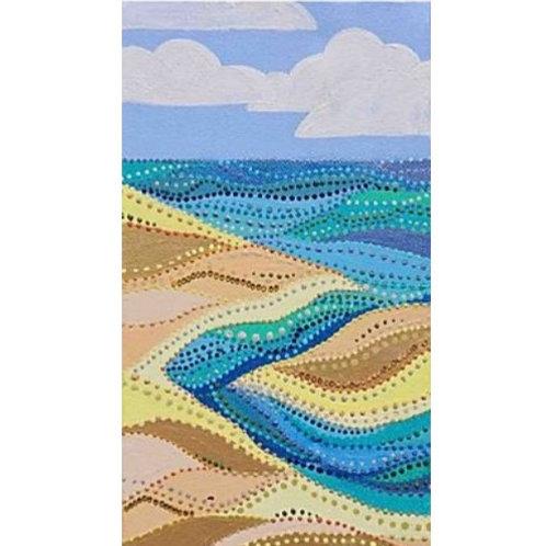 Dotty Seascape - Original Artwork By Maggie Dean