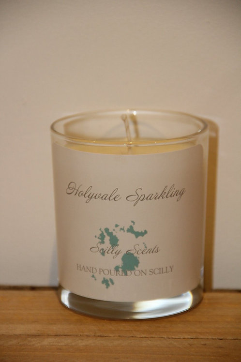 Holyvale Sparkling Scented Candle made on St Marys