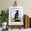 Thumbnail: White Island Cormorant Print - By Vic Heaney