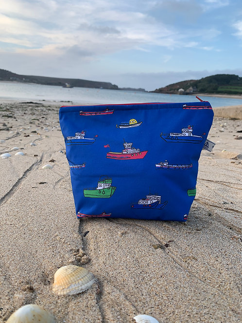 Scilly Boats wash bag