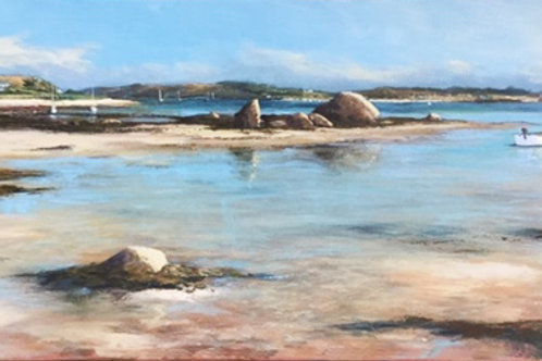 Green Bay Bryher Original Artwork By Chris Smith