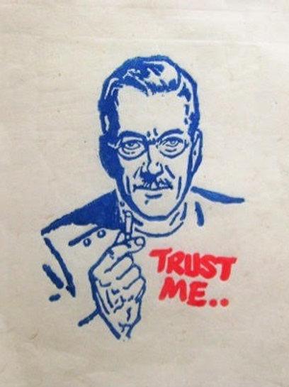 Trust Me - Original Artwork By Chris Garrett