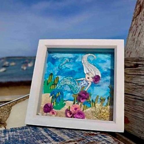 Mermaid - Original Artwork By Maggie Dean