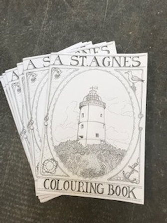 St Agnes Colouring Book