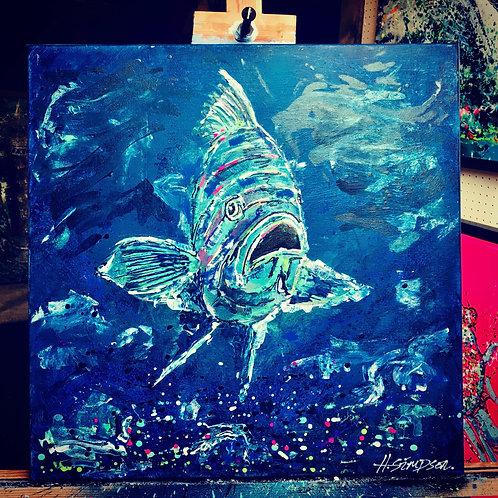 Scilly Rass Original Artwork By Hayden Simpson